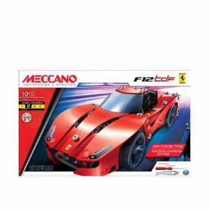 Meccano 6038187 - Auto Sportiva Ferrari F12tdF, 233 Pezzi