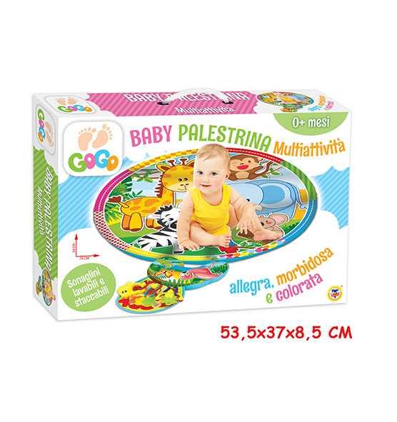 Teorema 65026 - Baby Tappetone Multiattività Con Cuscino E Accessori