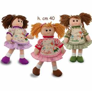 Teorema Bambola Camilla Vintage 40cm 65213
