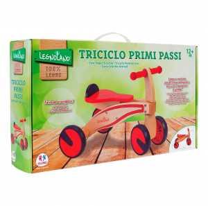 TRICICLO PRIMIPASSI LEGNO 4 RU - Globo (37914)