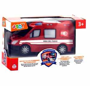 W'TOY 38185 Pompieri B/O Movimento Mistero Luci E Suoni