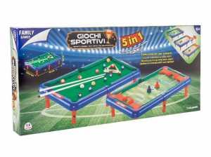 Family Games 38249 - Gioco 5 In 1 In Scatola