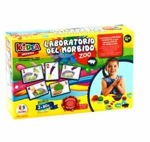 Kidea 38341 Crea Morbido Truedough 3 X 80g/6 Forme Zoo