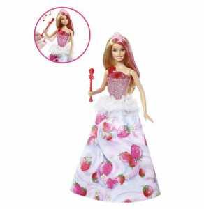 Barbie DYX28 - Principessa Regno Delle Caramelle