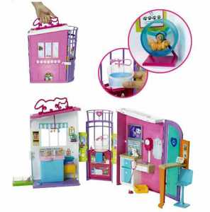 BARBIE STUDIO VETERINARIO - Mattel (Fbr36)