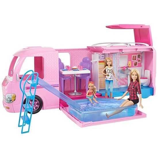 Barbie FBR34 - Camper Dei Sogni