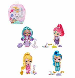 Bambola/e SHIMMER AND SHINE CAPELLI LUNGHI - Mattel (Dlh55)