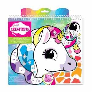 Crayola 04-6229 Creations Sticker & Numeri Art Set