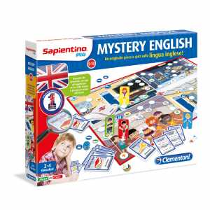 Clementoni 11349 - Gioco Di Percorso Mystery English