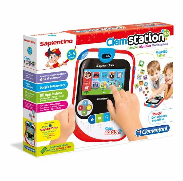 Sapientino 13513 - Console Educativa Clemstation 5.0