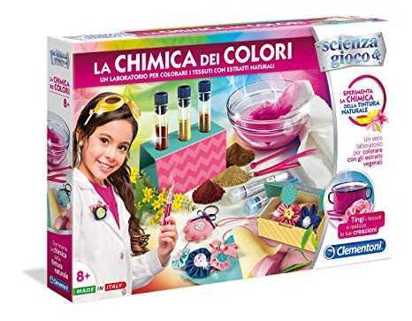 Clementoni 19027 - Laboratorio La Chimica Dei Colori