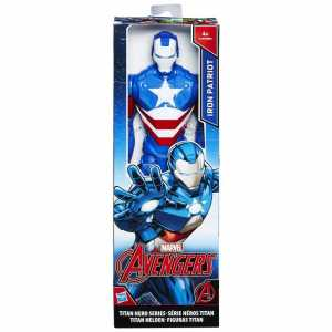 Avengers Titan Hero Personaggio Iron Patriot, 30 Cm