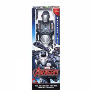 Avengers Titan Hero Personaggio War Machine, 30 Cm