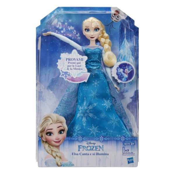 Hasbro Disney Frozen - Holiday Special Elsa Magica Cantante