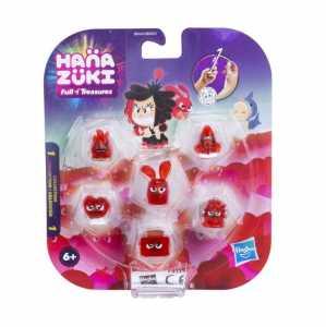 Hasbro Hana Zuki–b8446es00–Pack 5Tesori + 1Mini Hemka–Giallo