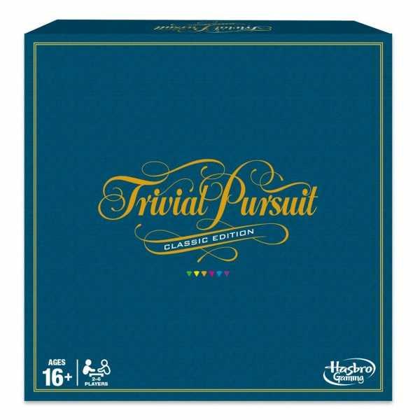Hasbro Gaming - Trivial Pursuit (Gioco In Scatola), 16 Anni +, 2 - 4 Giocatori, C1940103