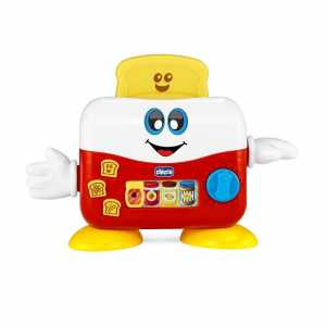 Chicco Baby Senses Mr. Toast Tostapane, Giallo