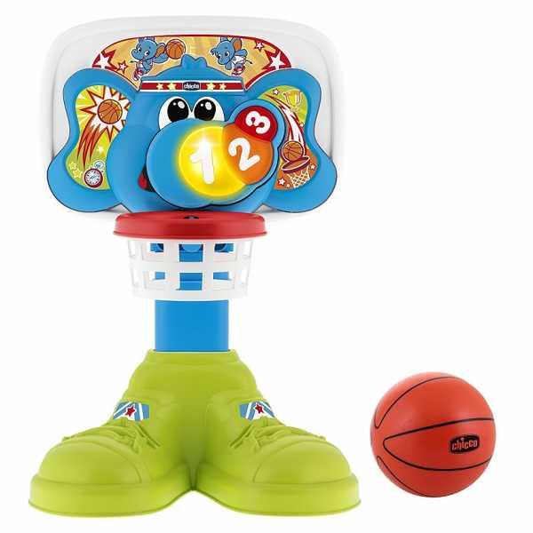 Chicco Fit&Fun Basket League, Canestro Elettronico, 18 Mesi - 5 Anni