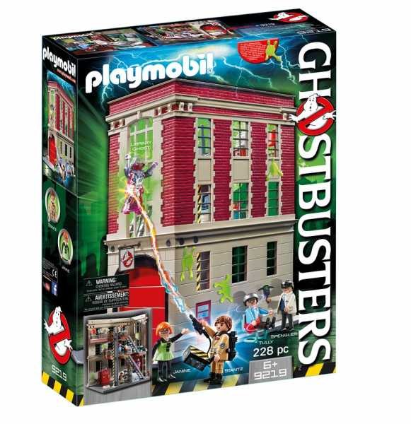 Playmobil 9219 - Caserma Dei Ghostbusters, Multicolore