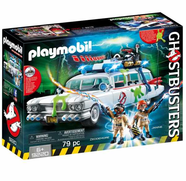 PLAYMOBIL 9220 - GHOSTBUSTERSTM ECTO-1