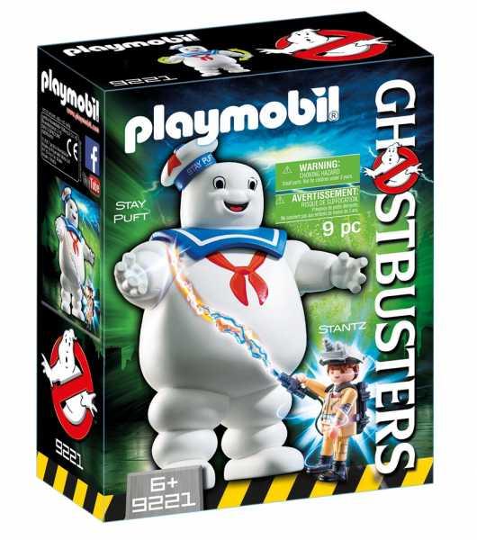 Playmobil 9221 - Omino Marshmallow E Stantz, 2 Pezzi