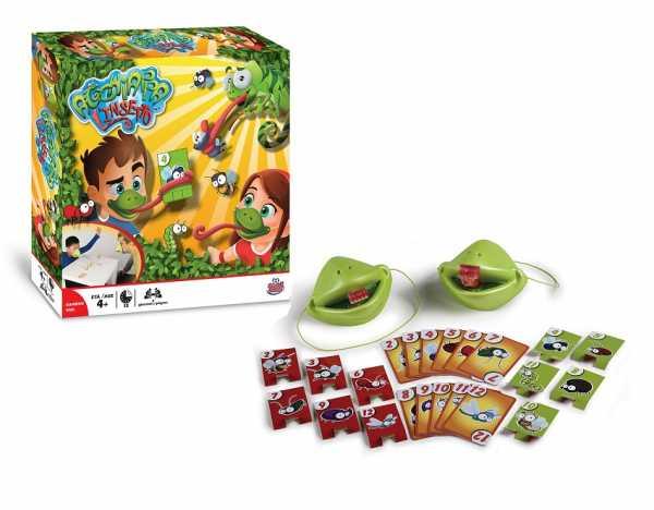Grandi Giochi Acchiappa L'Insetto, GG01308, Multicolore