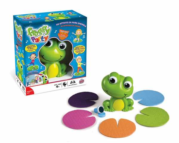 Grandi Giochi GG01307 - Froggy Party