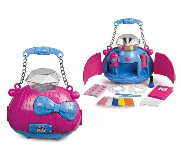 Grandi Giochi-Grandi Gioch I-Crea I Tuoi Smalti, GG01555 Per Bambini, Rosa