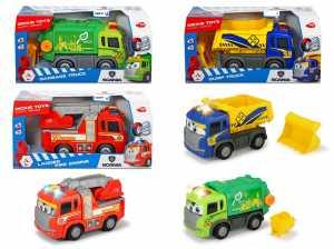 SIMBA Dickie Happy Trucks Cm. 25 Con Luci E Suoni Dump Truck 16002