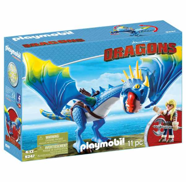 PLAYMOBIL DRAGONS ASTRID TEMPESTOSA (9247)