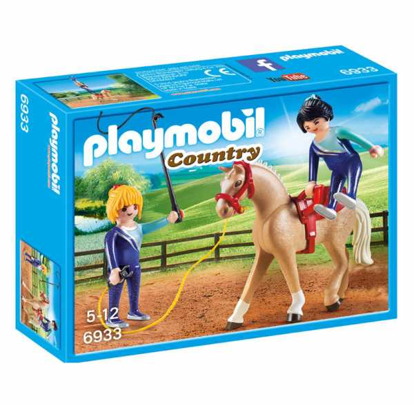 Playmobil 6933 - Addestramento Equestre, Multicolore