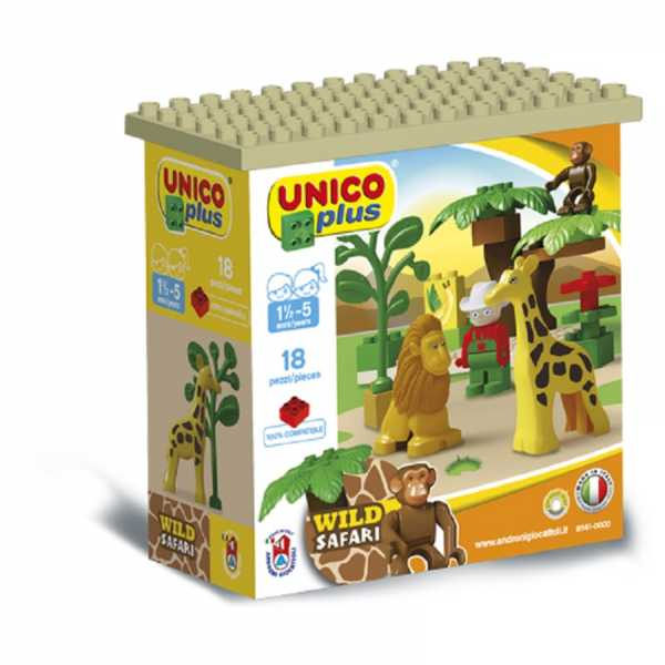 Unico- Mattoncini Compatibili Con Nota Marca, Multicolore, 8561-0000