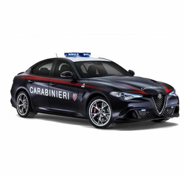 Alfa Romeo Giulia CARABINIERI - Scala 1:24