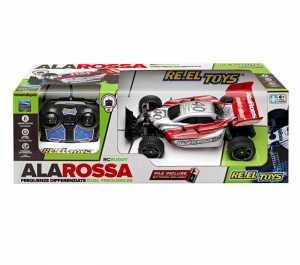 AUTO BUGGY ALA ROSSA SCALA 1 18 RADIO COMANDO AMMORTIZZATORI - Re El Toys (2154)