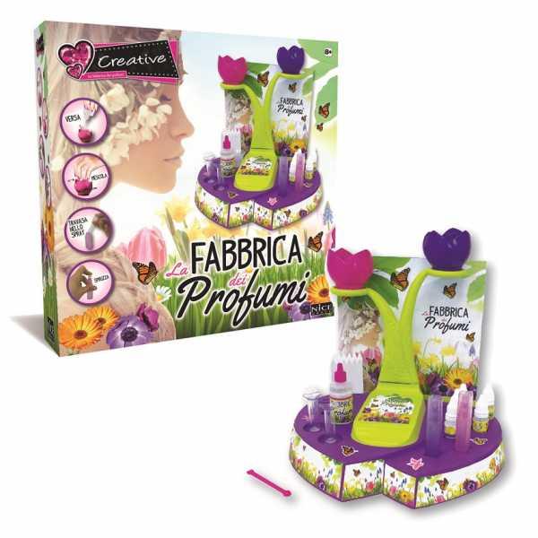 Nice S.R.L- Creative-la Fabbrica Dei Profumi Per Bambini, Multicolore, 898032