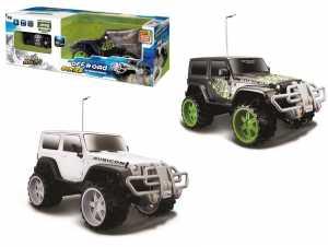 MAISTO Tech R/C 1:16 Off Road Jeep Rubicon 27 Mhz Cell Batt 83053