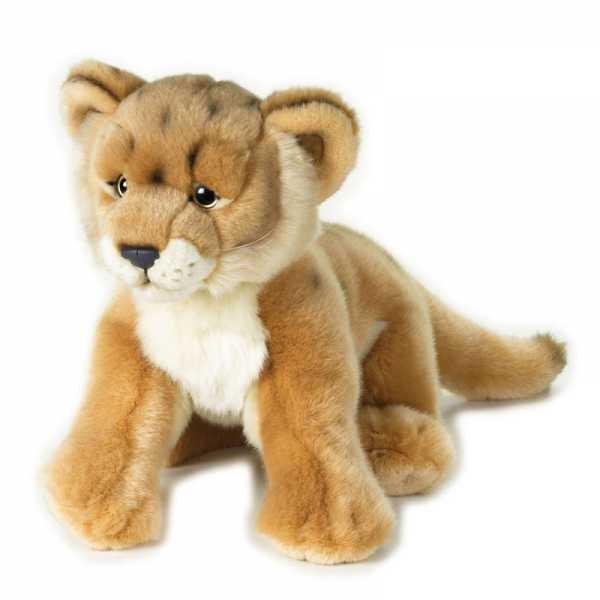 Venturelli Leoncino Baby Animale Bosco Peluches Giocattolo 473, Multicolore, 8004332920021
