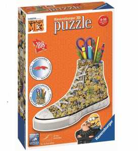 Ravensburger 3D Puzzle Sneaker - Ich - Einfach Unverbesserlich 3