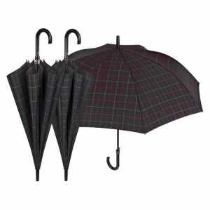 Perletti PERLETTI2593765x 8cm Da Golf A Quadri Design Antivento Ombrello