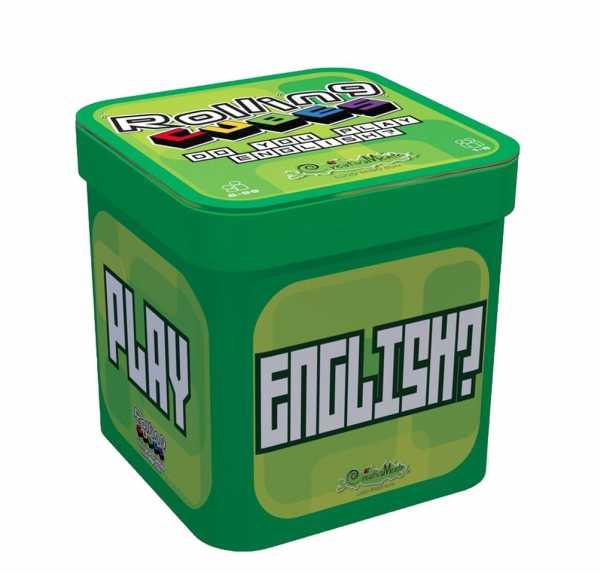 CreativaMente- Rolling Cubes Do You Play English, 553