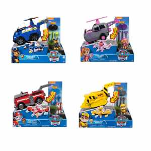 Spin Master 6037883 - Paw Patrol Veicolo Flip And Fly, Colore Assortito