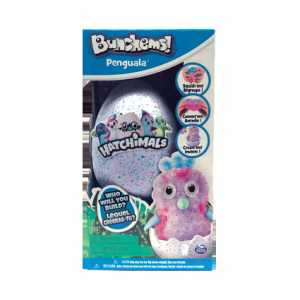 BUNCHEMS HATCHIMALS 180 Pezzi E 6 ACCESSORI - Spin Master (6041479)