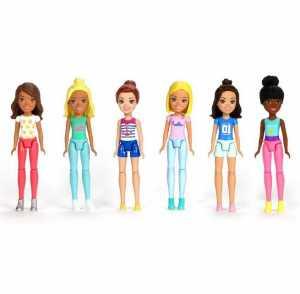 MATTEL Barbie Barbie Parti E Via Doll 4 FHV55 FHV73