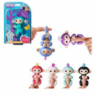 Giochi Preziosi - Fingerlings Scimmiette Bebè, Scimmia Interattiva, Colori Assortiti