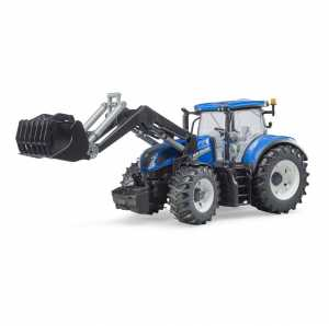 Bruder 3121 New Holland T7.315 con Caricamento Frontale