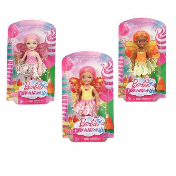 Barbie Dreamtopia Small Fairy Doll Citrus, DVM89