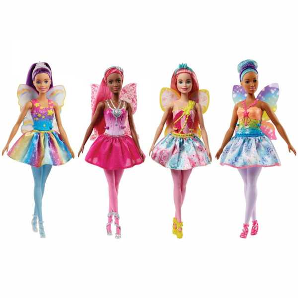 Barbie- Fatina Del Regno Delle Pietre Preziose Dal Mondo Di Dreamtopia, FJC86