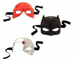 MATTEL Wb Justice League Maschera Batman Mask FGM04 FGM05