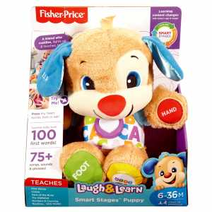 Fisher-Price Il Cagnolino Smart Stages - Ride E Impara - 6-36 Mesi, FPM51
