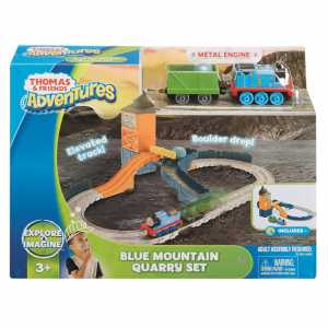 Il Trenino Thomas FJP82 - Adventures - Cava Blue Mountain - Kit Pista Trenini Giocattolo